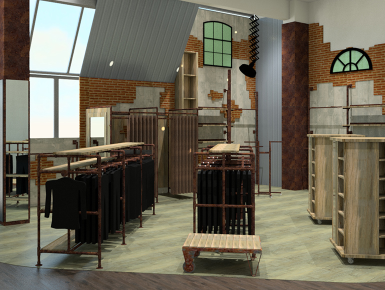 Konzeption im Ladenbau mit Begeisterung für Qualität und Design