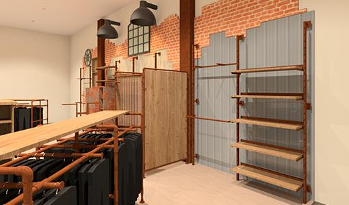 Entwicklung von neuen Shop-Konzepten im Ladenbau