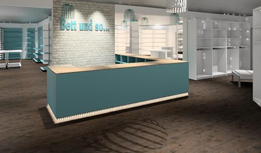 Konzept und Visualisierung im Ladenbau