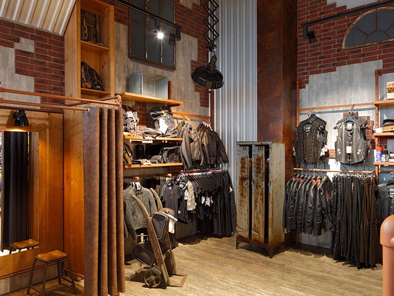 Neugestaltung der Ladeneinrichtung